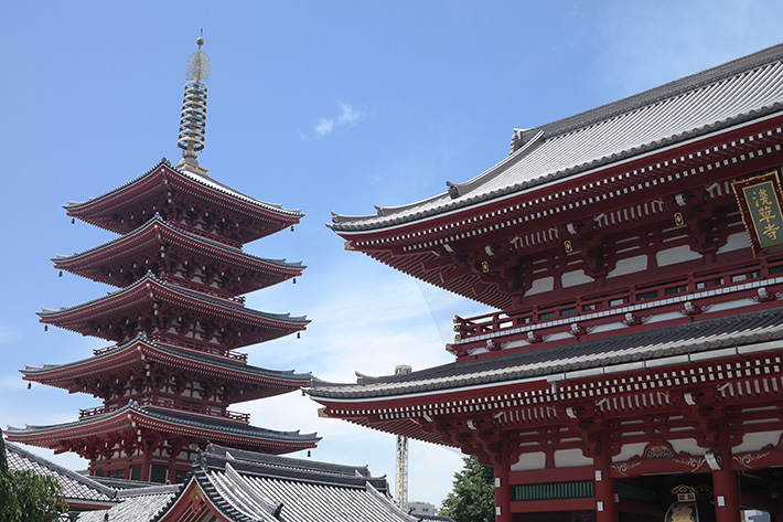 Tempel-i-Asakusa
