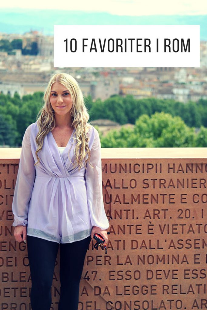 10 favoriterplatser i Rom
