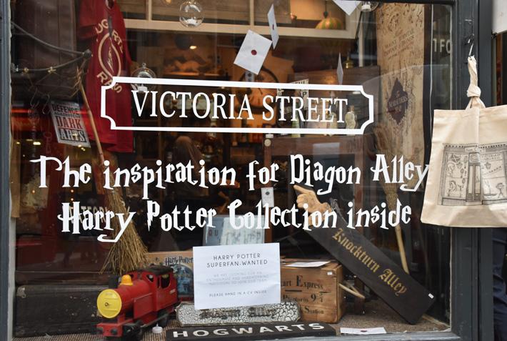 Victoria Street – Inspirationen till Diagon Alley i Harry Potter