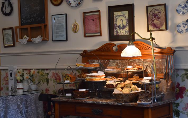 Clarindas Tea Room, Edinburgh