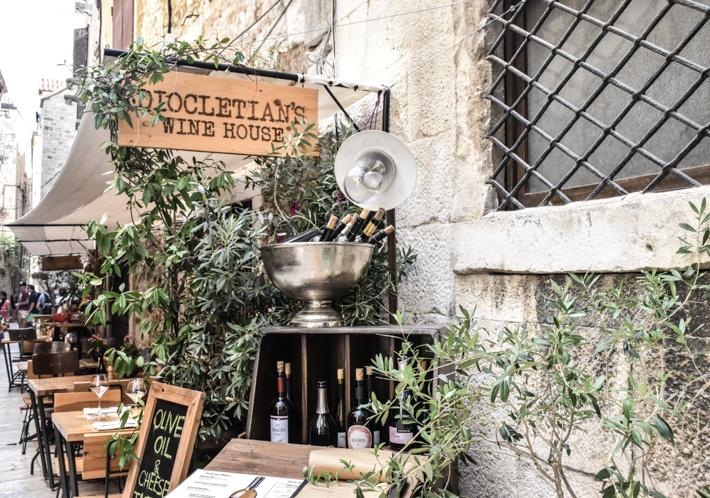 Diocletian's Wine House – en oas i historisk miljö