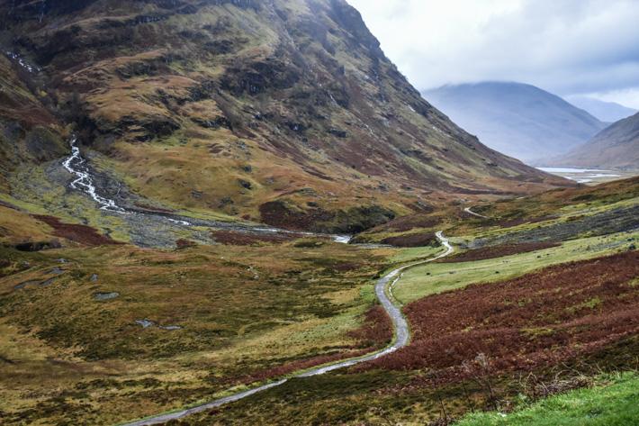En resa genom skotska höglandet i Harry Potters fotspår