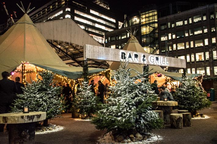 Londons mysigaste jul -& vinter Pop up´s