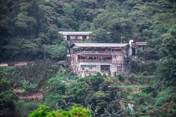 Maokong- Byn högt uppe i bergen