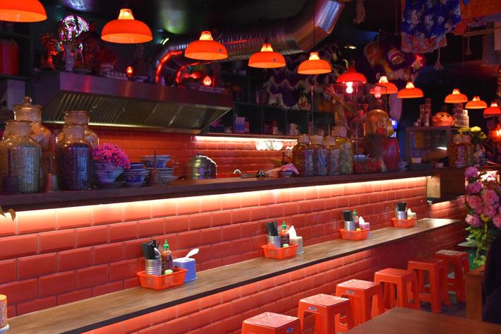 annorlunda restauranger i Berlin