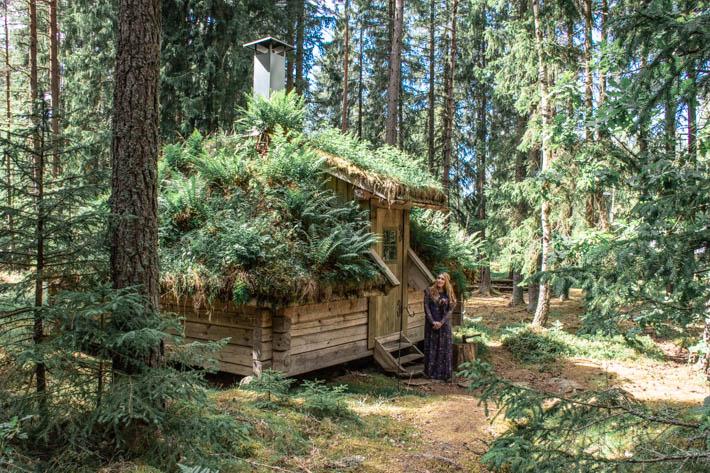 Urnatur- Bo i mosstempel & luftslott