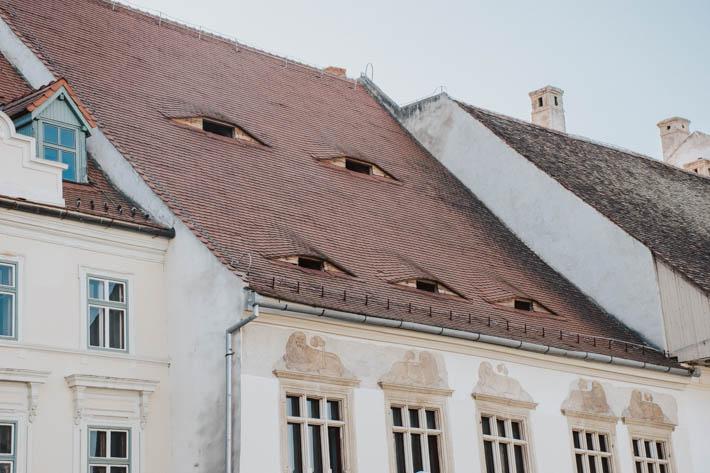 Sibiu- Den transsylvanska sagostaden med ögon